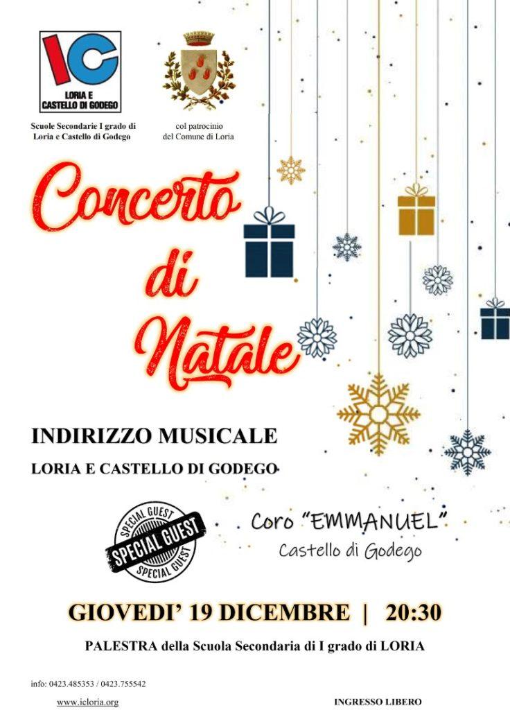 Concerto di Natale dell'Indirizzo musicale - giovedì 19 dicembre 2019 alle ore 20.30